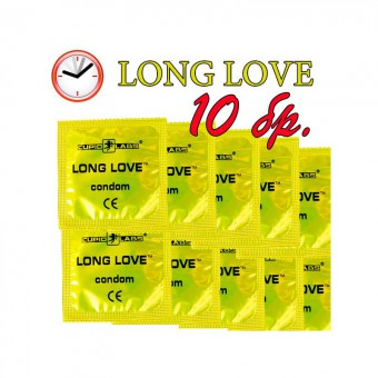 Long Love - 10 prezervative
