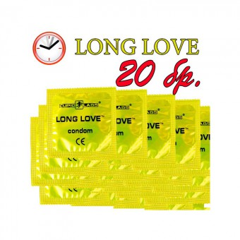 Long love - 20 prezervative